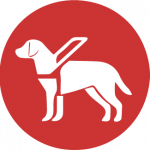 Assistance animal icon