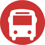 Accessible transport icon