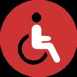 Wheelchair access icon